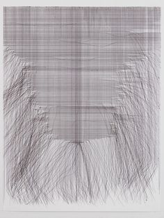 FERNANDO DE BRITO - large-scale ballpoint pen drawings