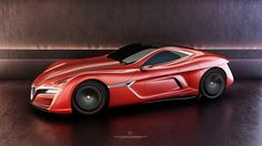 Alfa Romeo 12C GTS Concept by Ugur Sahin.  C'est un concept de toute beauté que nous avons voulu vous présenter. Le C12 GTS Concept, signé de l'artiste designer Ugur Sahin. Ce concept, qui est loin d'être décliné en prototype, est basé sur l'alfa Romeo 8C Competizione. Selon des informations …