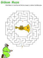 Gideon maze