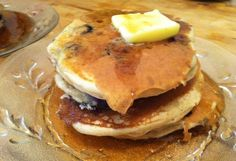 How to Make Blueberry Buttermilk Pancakes by Lauren Karas