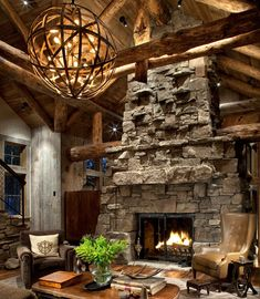 Rustic Lighting Designs Can Give Your Cabin An Earthy More Casual Feel And Chandeliers