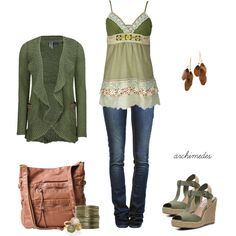 Nature Girl by archimedes16 on Polyvore