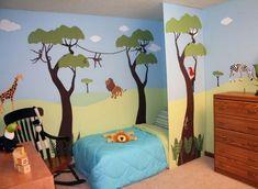 decoracion animales cuarto del bebe recien nacido - Buscar con Google