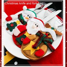 Find More Candy Boxes Information about Christmas Knife and Fork Bagwith Santa Claus, Christmas Fork Decoration Bag with Snowman for Home Party Hotel Party  TMMJ005,High Quality decor,China christmas decoration led Suppliers, Cheap christmas decorations crafts kids from Household Products wholsale and Retail on Aliexpress.com