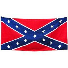 rebel flag towel must have