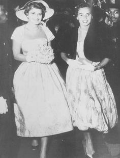 Jean Kennedy Smith and Ethel Skakel Kennedy