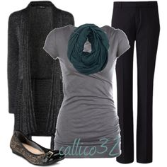 """""""Work Outfit #3"""" by callico32 on Polyvore"""