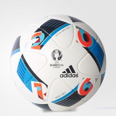 Push your play with this official UEFA EURO match ball. Features a  thermally bonded 482f9f4d65411