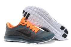sports shoes 363d5 1a0b3 Nike Free 3.0 v6 Men DarkSlateGray Orange Cheap Nike Running Shoes, Free  Running Shoes,