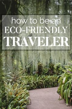 13 Essential Tips to Becoming a Sustainable & Ethical Traveler | These tips for traveling more responsibly and ethically are SO helpful! This list is full of GREAT ideas for eco-friendly travel! I know I can be a lot more green and responsible when I travel so this is a great place to start! Definitely pinning! #sustainable #ecofriendly #greenliving #traveltips
