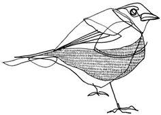 Sparrow by Kate Castelli, via Flickr