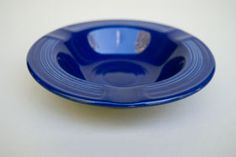 Cobalt Vintage Fiestaware Ashtray