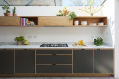 London Fields Kitchen, Study, Bathroom and Utility — Bespoke Plywood Furniture Home Decor Kitchen, Kitchen Furniture, Kitchen Interior, New Kitchen, Home Kitchens, Kitchen Dining, Home Furniture, Kitchen Cabinets, Furniture Design