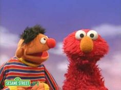 Sesame Street: Sing After Me....   TRA La la... Mi Mi Mi.. cute way to discuss pitch matching and echo singing