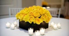 Oh my goodness, I am _loving_ every last ounce of this pretty, pretty Glen Ridge affair captured by Brad Ross Photography . From the stunning yellow and black color palette to the chic contemporary ...