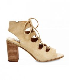 Steve Madden Nilunda Suede Lace-Up Sandals