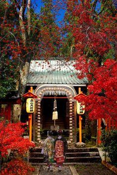 Templo Budista en Kyoto Miyako Shichifukujin  ( los siete Dioses de la buena fortuna) #japon #kyoto #geisha #primavera #torii #Santuario #sakura #templo #miyakoshichifukujin