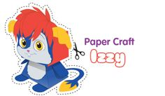 Izzt Paper Craft - Free Fun Party Popples Printables and Activities | SKGaleana