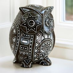 Traidcraft Wise Wooden Owl - Traidcraft