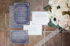 wedding invitation idea; photo: Sposto Photography