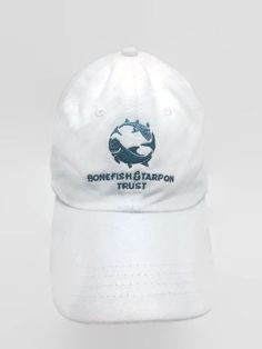 Bonefish Tarpon Trust Hat BTT Cotton Strapback Embroidered Baseball Cap #Thailheimer #BaseballCap