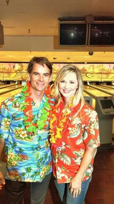 Jeff Gordon and Miss Sprint Cup bowling for the Jeff Gordon Children's Foundation