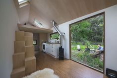 Walden Studio and Dimka Wentzel completed a beautiful tiny house that's completely self-sufficient.