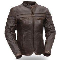 Katie Womens Leather Jacket