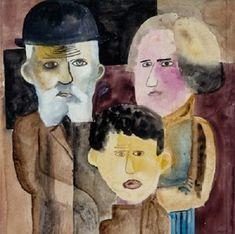 Lasar Segall – Família, 1922