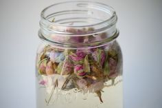 How to make your own rose water toner:  Place about 1/2 cup of dried rose hips into a glass container  Pour hot distilled or filtered water over the rose hips  Let sit for about 1-2 hours  Using a cheesecloth or strainer pour the rose water into a spray bottle