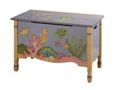Childrens Under the Sea Toy Chest