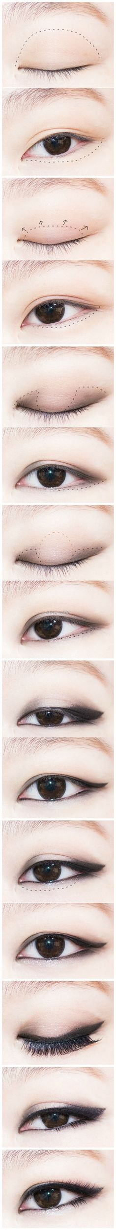 Natural Fig Makeup by Hyojin - Korean Makeup Asian Makeup Tips, Asian Makeup Tutorials, Asian Makeup Looks, Korean Eye Makeup, Asian Make Up, Korean Make Up, Korean Wedding Makeup, Gyaru Hair, Makeup Hacks