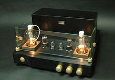 WAVAC AUDIO TC-808  Uses RCA 808 tubes