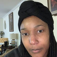 Satin Lined Wide Headband Wrap Ankara Head Wrap Pineapple Bun Wrap African Print Wrap - Noni or Choose Your Color