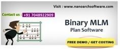Purchase binary plan software for growth of mlm business