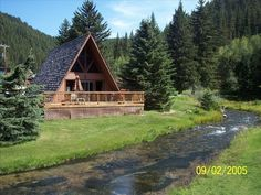 Lead Vacation Rental - VRBO 268409 - 3 BR Black Hills Cabin in SD, Log Cabin on Spearfish Creek Near Fishing Hiking Biking Trails
