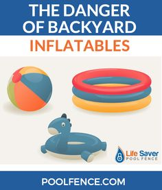 Everyone is using backyard inflatables these days. However it is important to note that, while inflatables can be a lot of fun, they can also be quite dangerous. That said, if you're taking the proper precautions, you can stay cool in your own backyard all summer long!  So let's take a look today at some of your favorite backyard inflatables, along with some tips to keep you safe.  #pooltoys #poolsafety #watersafety #drowningprevention #kidssafety #childsafety #pool #backyardpool #inflatables Swimming Pool Enclosures, Swimming Pools, Diy Pool Fence, Backyard, Summer Safety Tips, Water Safety, Pool Toys, Child Safety, Posts