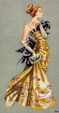 Lady Alexandra Mirabilia counted cross stitch pattern Nora Corbett chart MD115