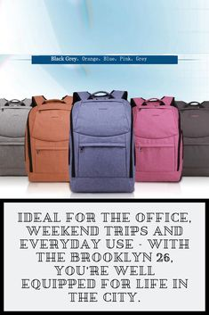 Urban commuters that want to be well organised in their everyday life are excellently supported with the practical organisation system. The design is totally cool, the functionality second to none. Rucksack Backpack, Canvas Backpack, Backpack Purse, Fashion Backpack, Backpack Organization, College Organization, Day Backpacks, Anti Theft Backpack, Waterproof Backpack