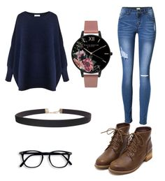 """"""""""" by taylorferrell ❤ liked on Polyvore featuring Paisie, Olivia Burton and Humble Chic"""
