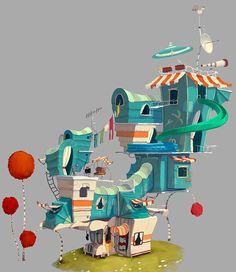 http://clementgriselain.blogspot.com.br/2013/03/the-lorax-nature-exterior.html