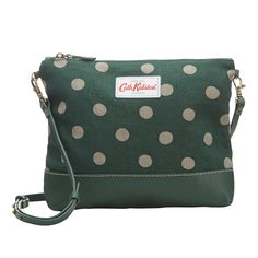 Button Spot | Button Spot Small Cross Body Canvas & Leather Bag | CathKidston