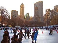 bucket list: ice skating central park