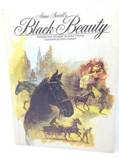 Black Beauty by Anna Sewell -1962 by CellarDeals on Etsy