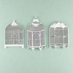Prima   Metal Treasures  Bird Cages 890858 by DiscountPaperCrafts, $4.69