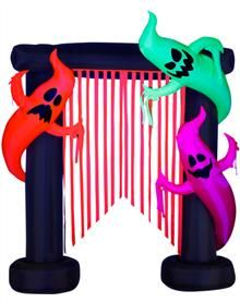Flo Glo Ghost Archway Inflatable  129.99