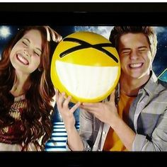 Billy Unger and Kelli Berglund...their faces are so accurate