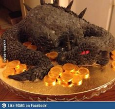 Hobbit Cake (but where's the Arkenstone?)