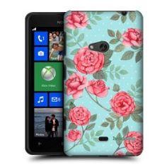 Capa Rosas Nokia Lumia 625 + Película