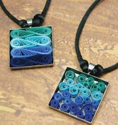 quilling jewelry | Two new jewelry kits, blanks, and more for all your creative jewelry ...